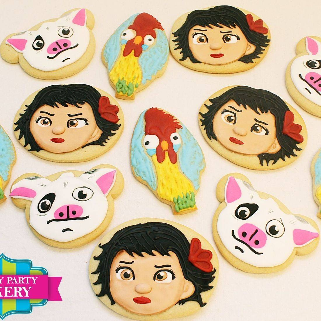 Moana Set  cookies Milwaukee