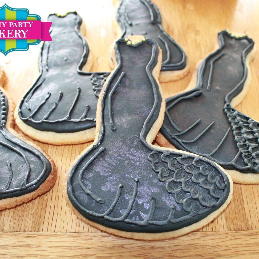 Black Dress Cookies Milwaukee