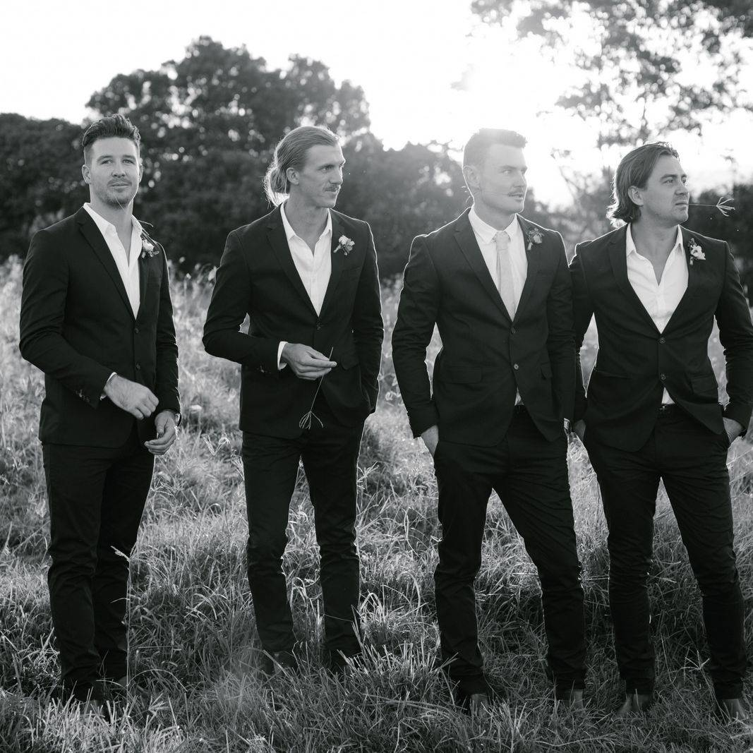 The Groomsmen and Tom