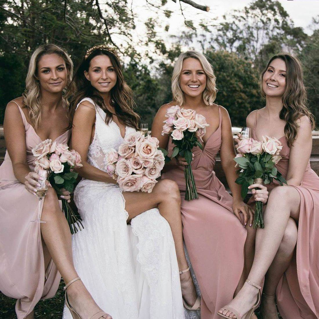 Kate and her bridal party