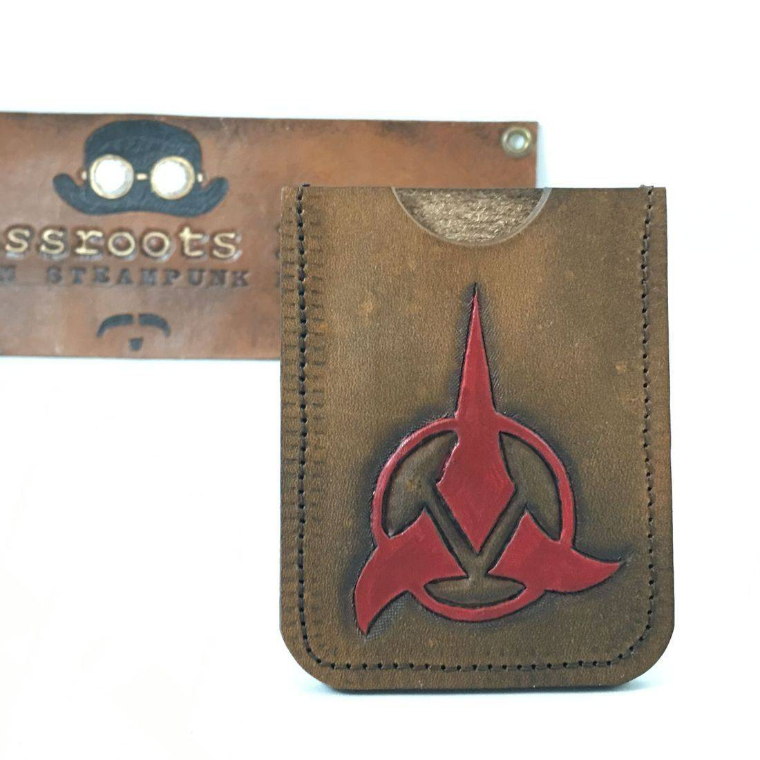 Single slot wallet Klingon