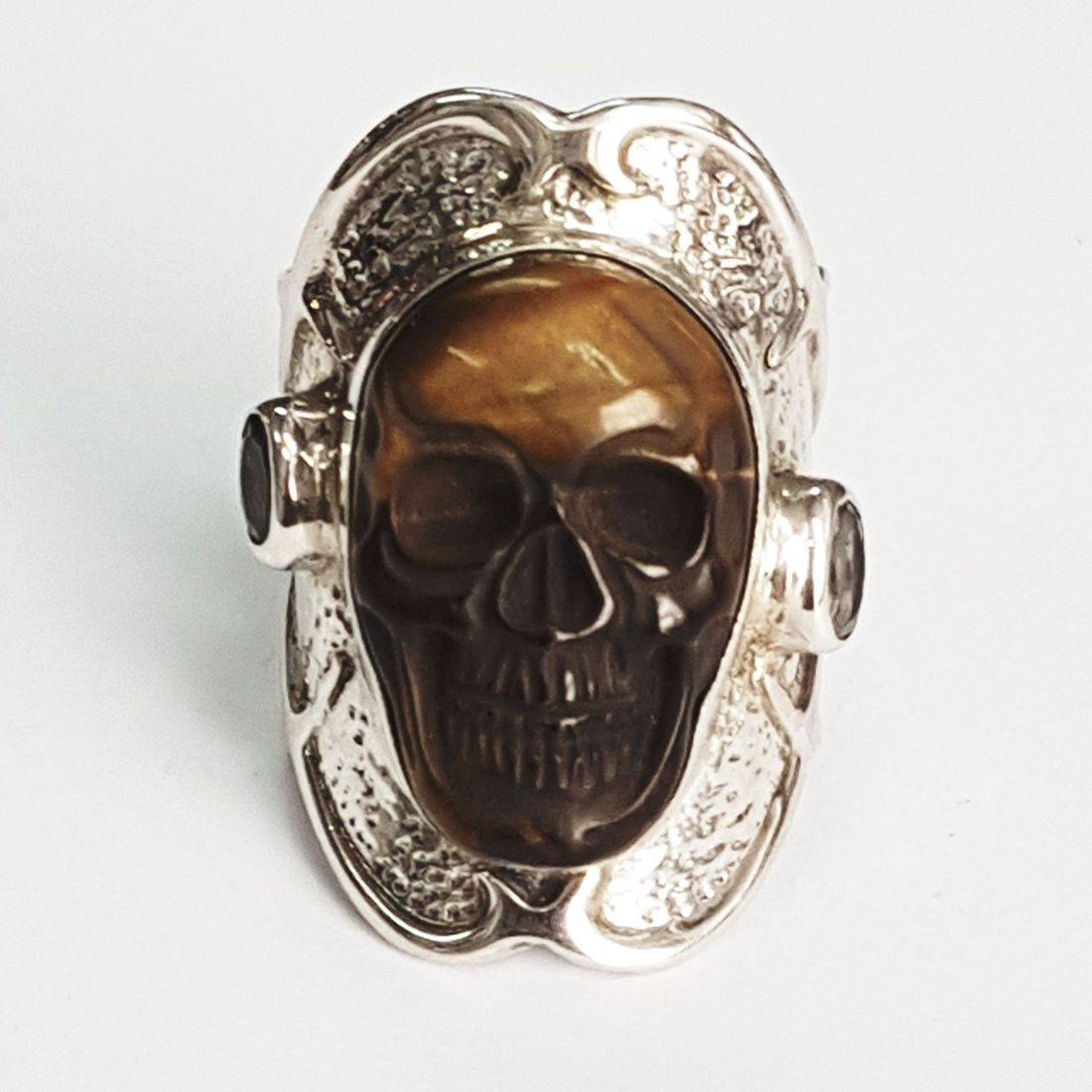 Tiger eye skull available at Kazbah online and our Leicester city centre shop