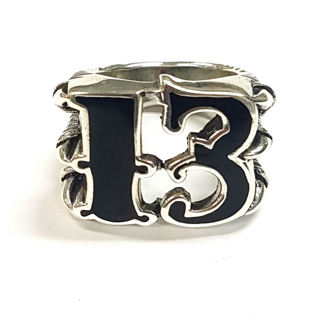 Black 13 Ring  available at Kazbah online and our Leicester City Centre shop