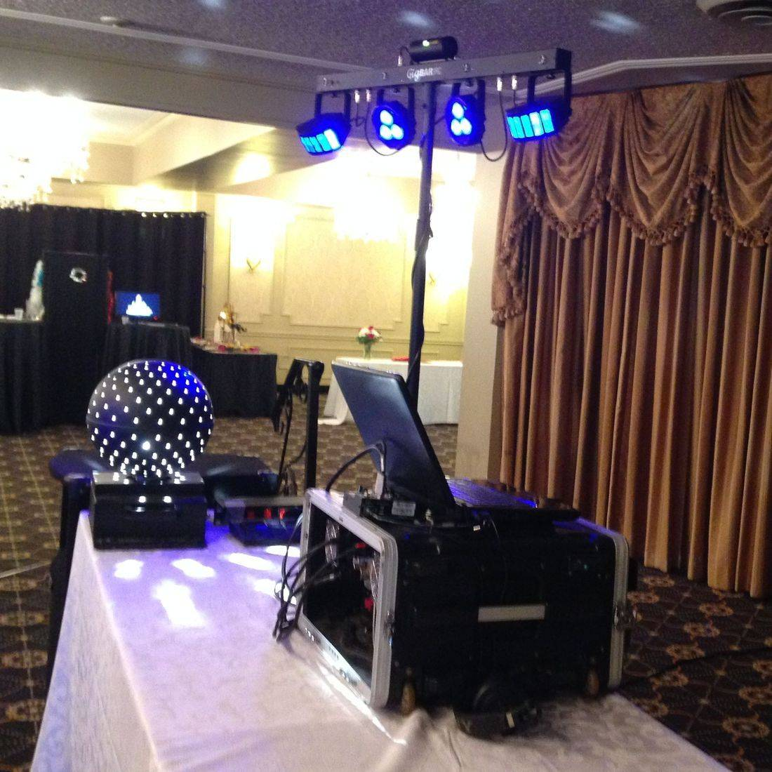 Mr. Productions DJ Service at a grade 8 graduation at Liuna Gardens in Stoney Creek.