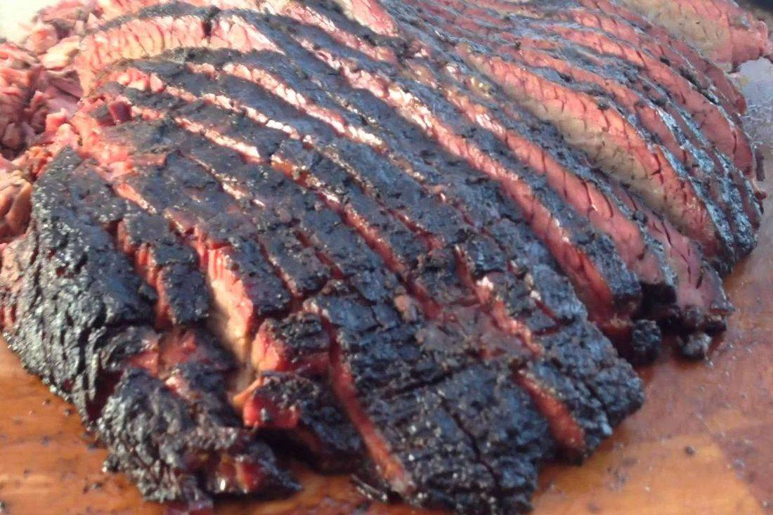 Slow roasted bbq beef brisket is a great catering