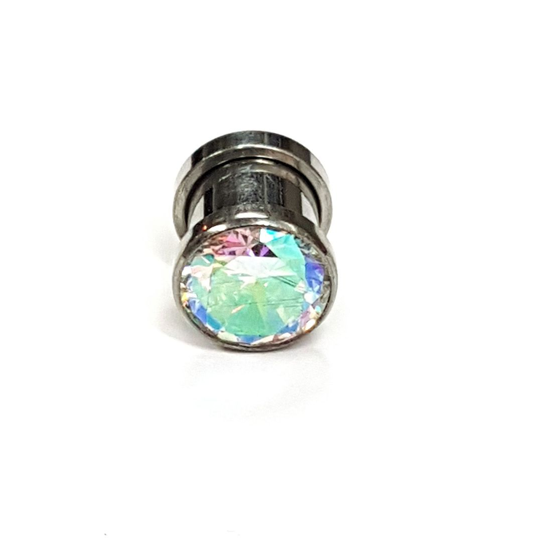 8mm titanium plug available at kazbah online or our Leicester City Centre Store