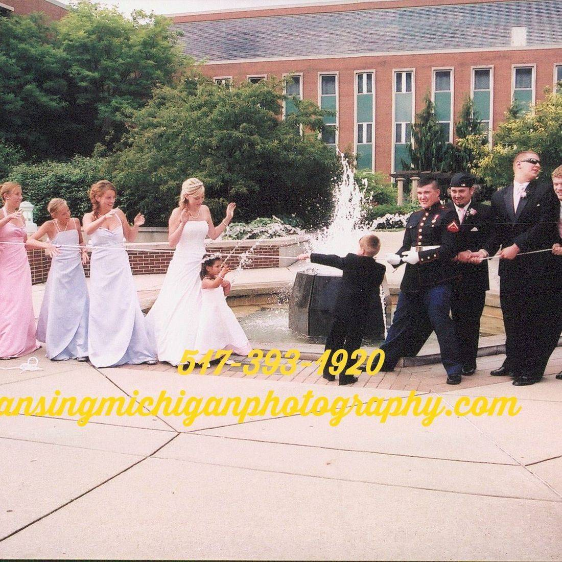 wedding photography   lansing Mi