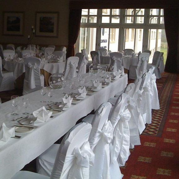 Chair cover hire peebles