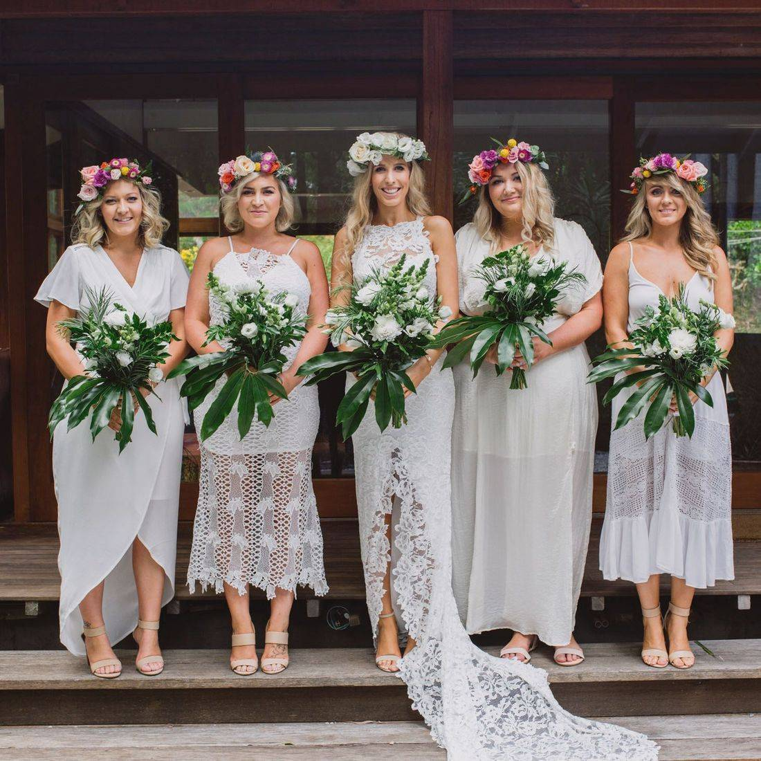 White Wedding in Byron Bay