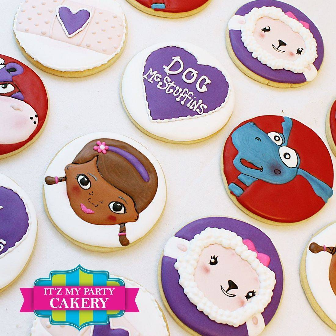 Doc McStuffins Cookie Set Milwaukee