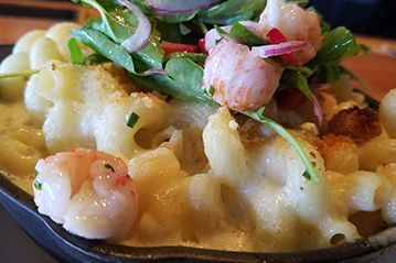 Mac N' Cheese w/ Langostino Lobster Happy Hour