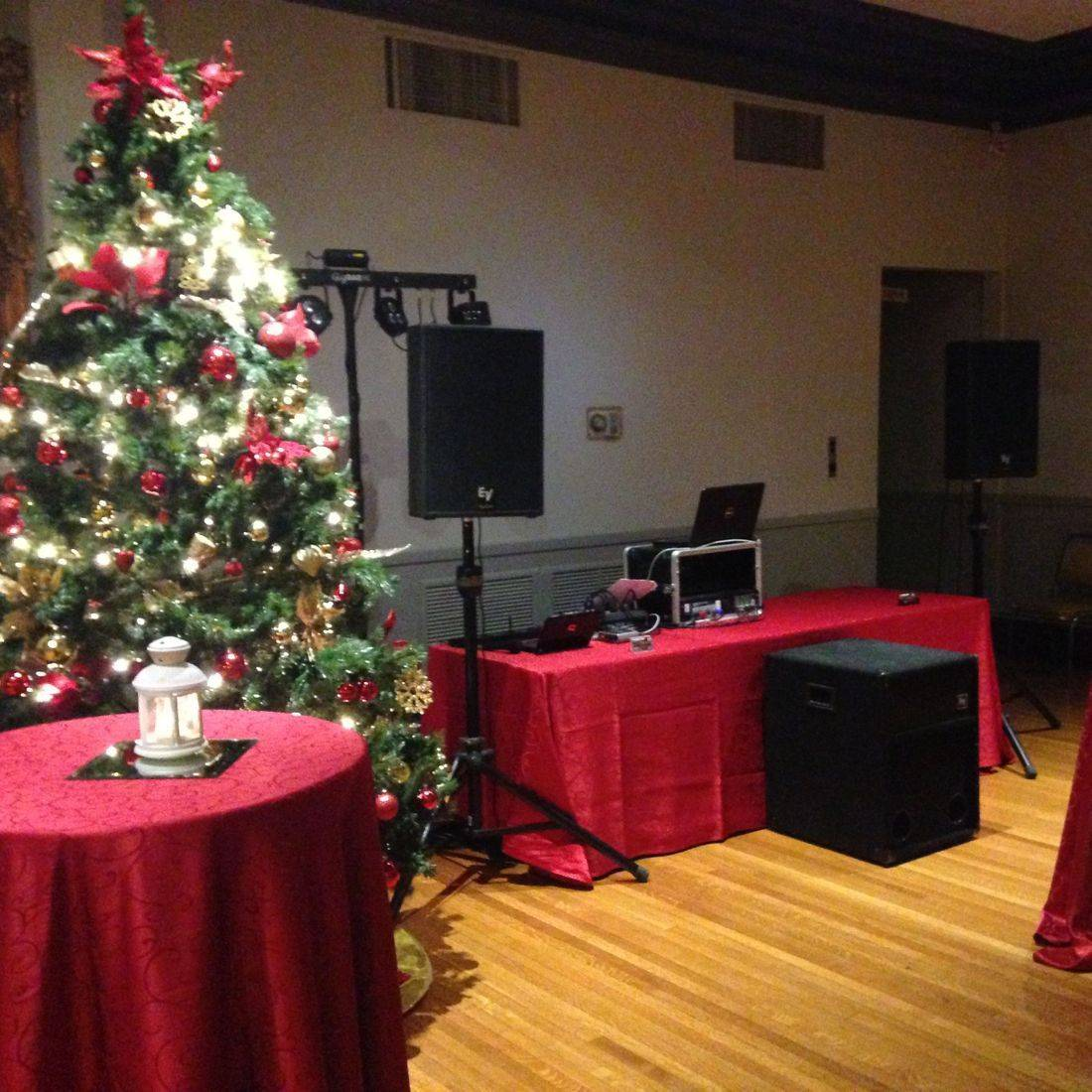 Mr. Productions DJ Service at a Christmas Party at the Scottish Rite
