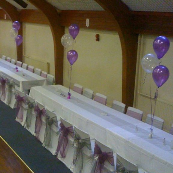 Chair cover hire kilmarnock. Balloon decor