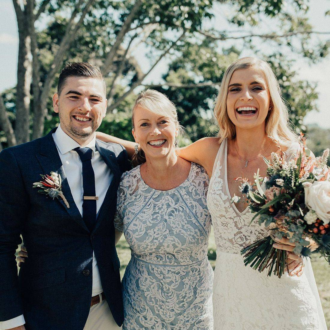 Michelle Shannon Celebrant with Beck and Lindsay