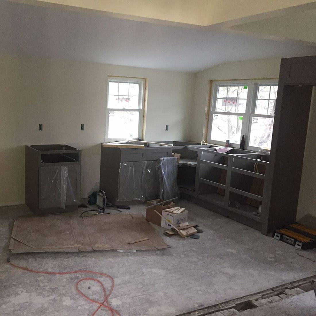 Kitchen remodel Southern Maine