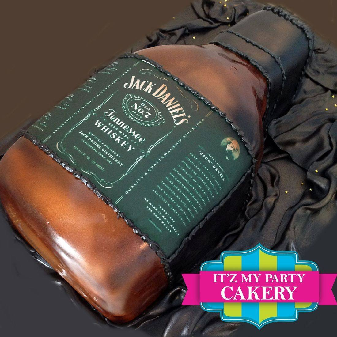 Jack Daniels Bottle Dimensional Cake Milwaukee