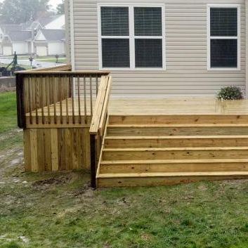 decking enclosure