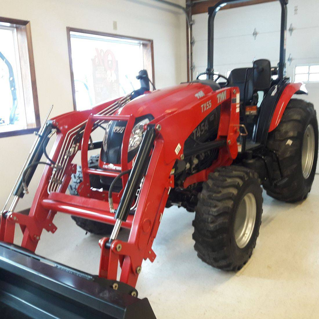 46 HP TYM Tractor Loader w/4 cyl Yanmar Diesel Engine