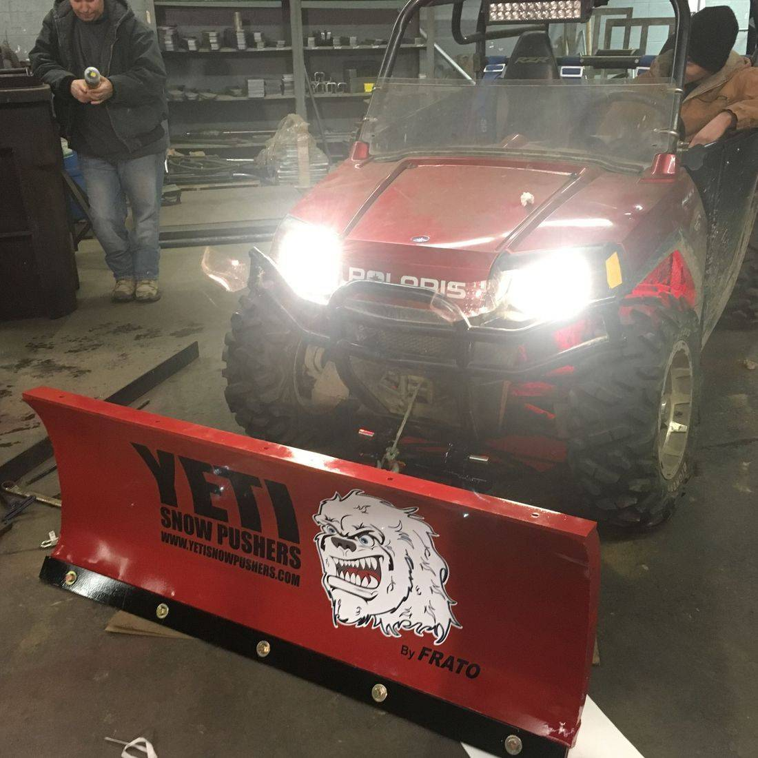 Frato Products - UTV Snow Plow Manufacturing & Install Cleveland, OH