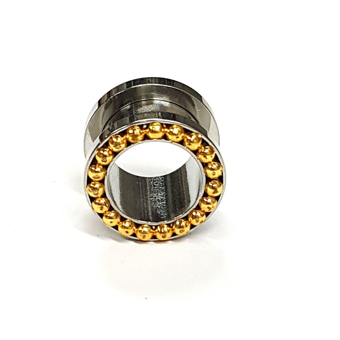 12mm titanium plug available at kazbah online or our Leicester City Centre Store