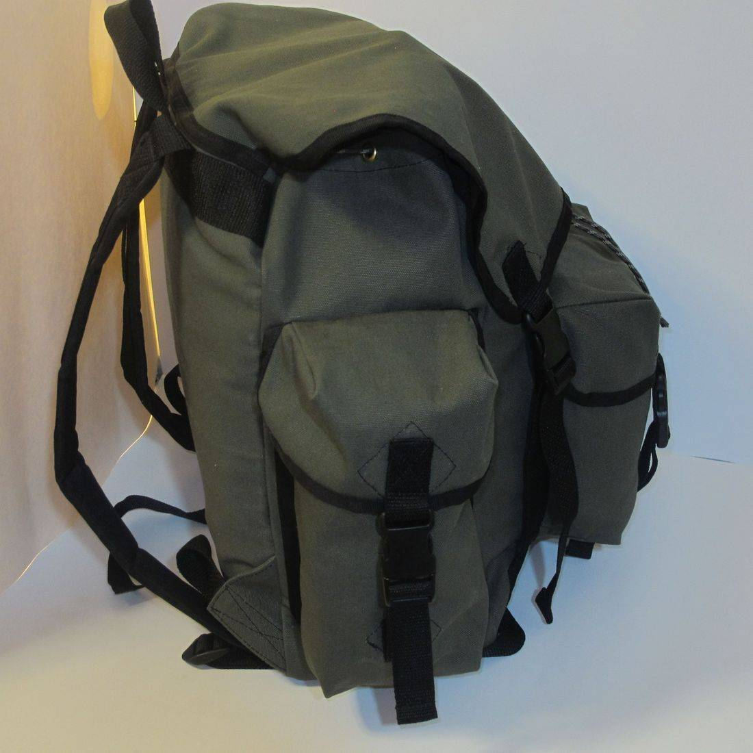 30 liter handmade backpack, made in America, travel bag, camping gear, backpack for bushcrafting, .jpeg
