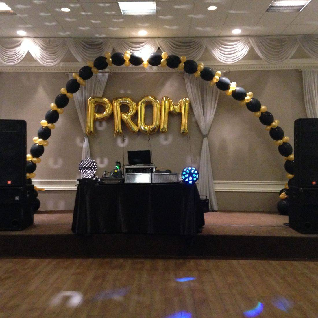 Mr. Productions DJ Service at a prom at Marquis Gardens in Hamilton