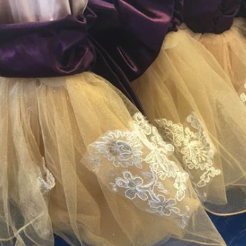 Our tiny students are going to love wearing these adorable tutus!