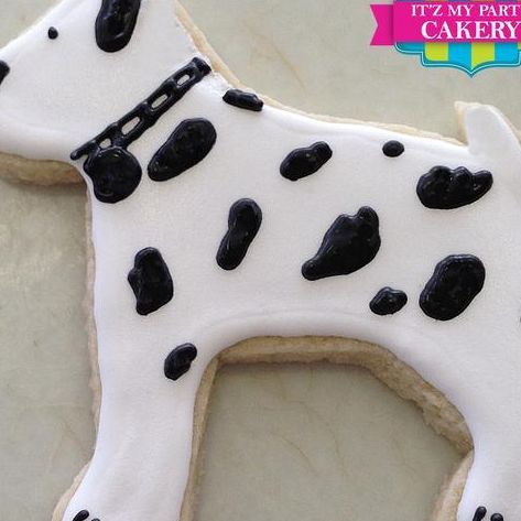 Dalmatian Dog Cookies Milwaukee