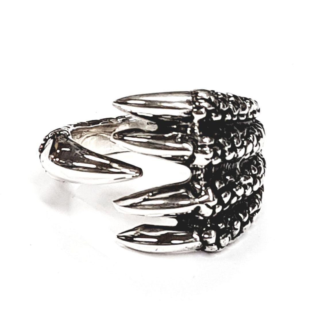 Solid Silver claw ring available at Kazbah online and our Leicester city centre shop