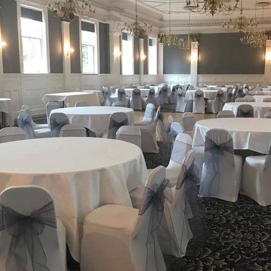 Chair cover hire Tontine Hotel, Greenock