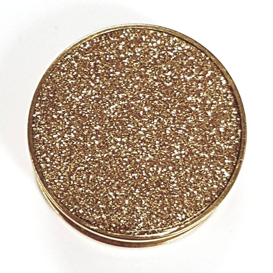 Titanium gold glitter plug  available from Kazbah online or our Leicester city centre store