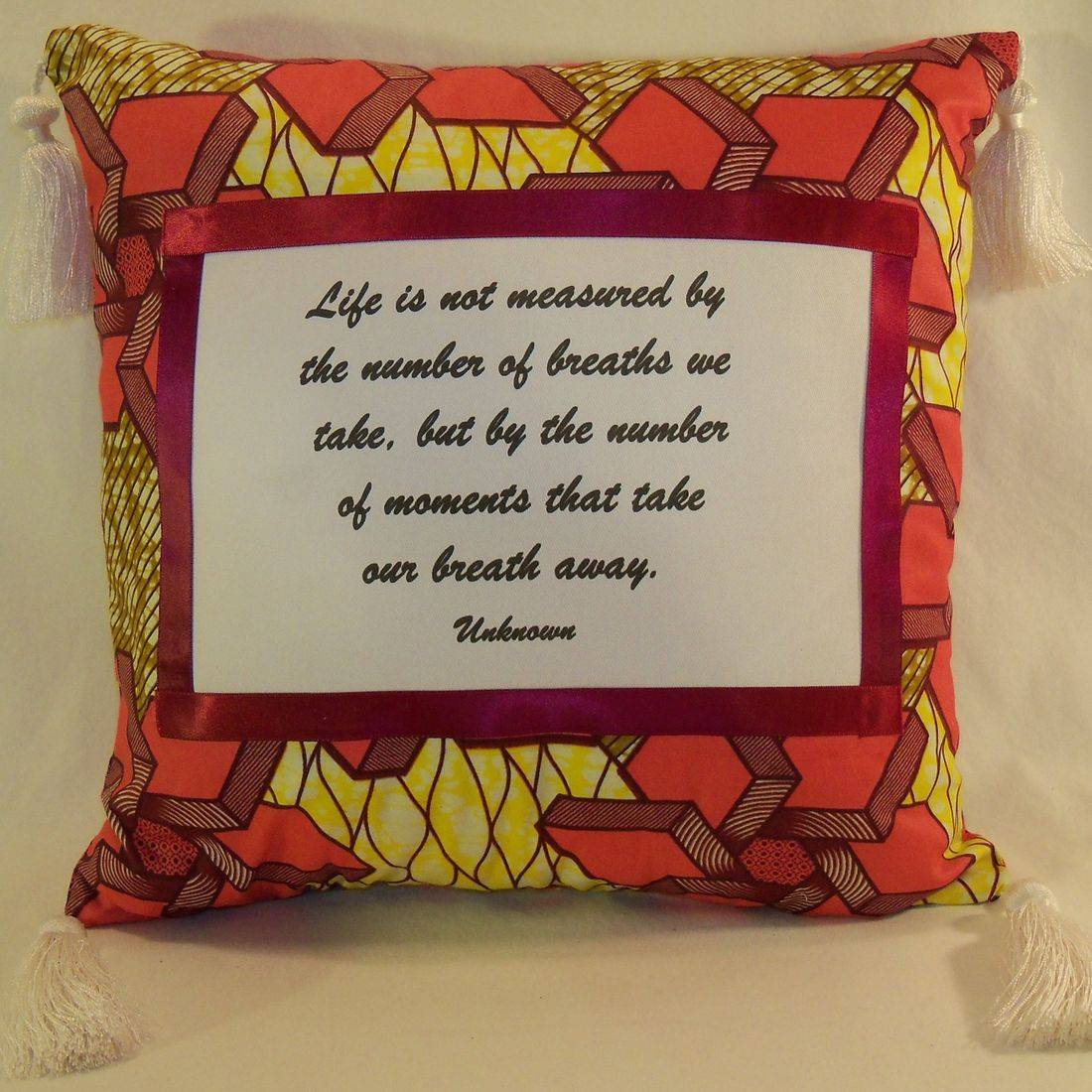 Measurement of Life Pillow