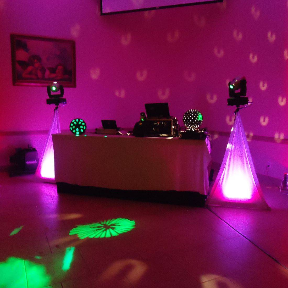 DJ for a party