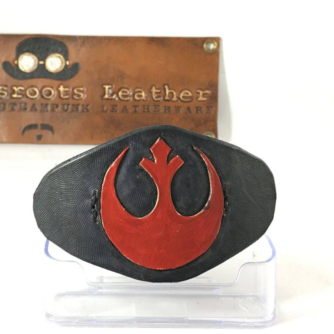Leather Hair Clip Star Wars Rebels (black)
