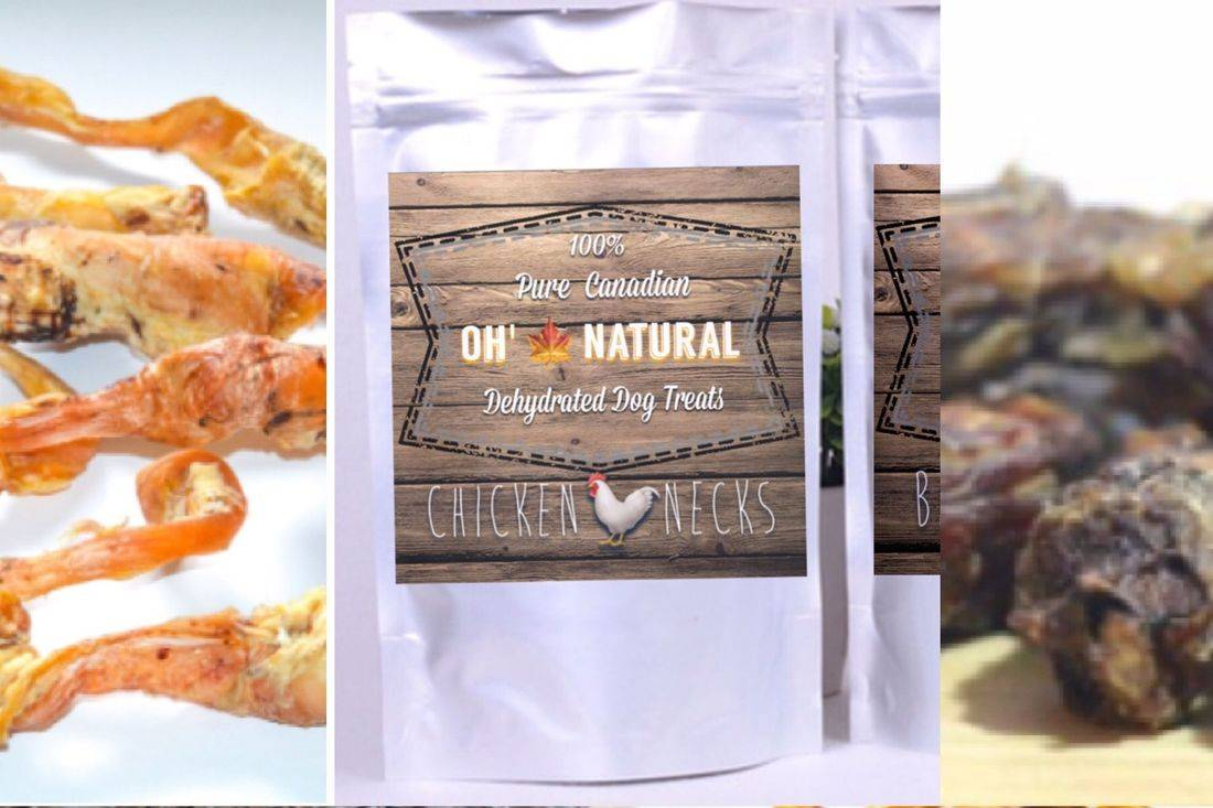 Natural Dehydrated dog treats, Oh' Natural, oh Natural, slobbers