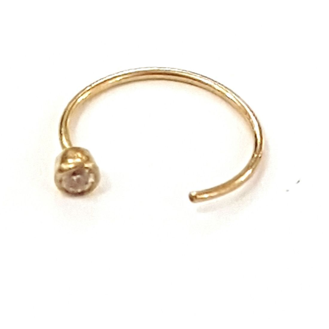 14ct gold Crystal Half Ring available at kazbah online and our Leicester city centre shop