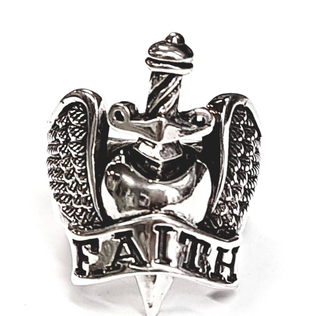 Faith and Dagger ring available at Kazbah online and our Leicester city centre shop