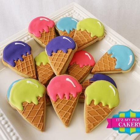Ice cream Cone Cookies Milwaukee