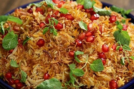 This is Arista's Biryani Pom Rice