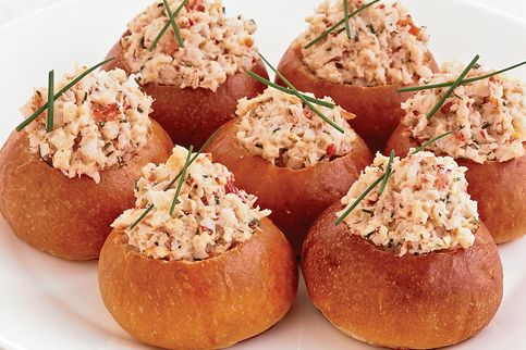 This is our Cajun Mini Brioche Lobster Roll