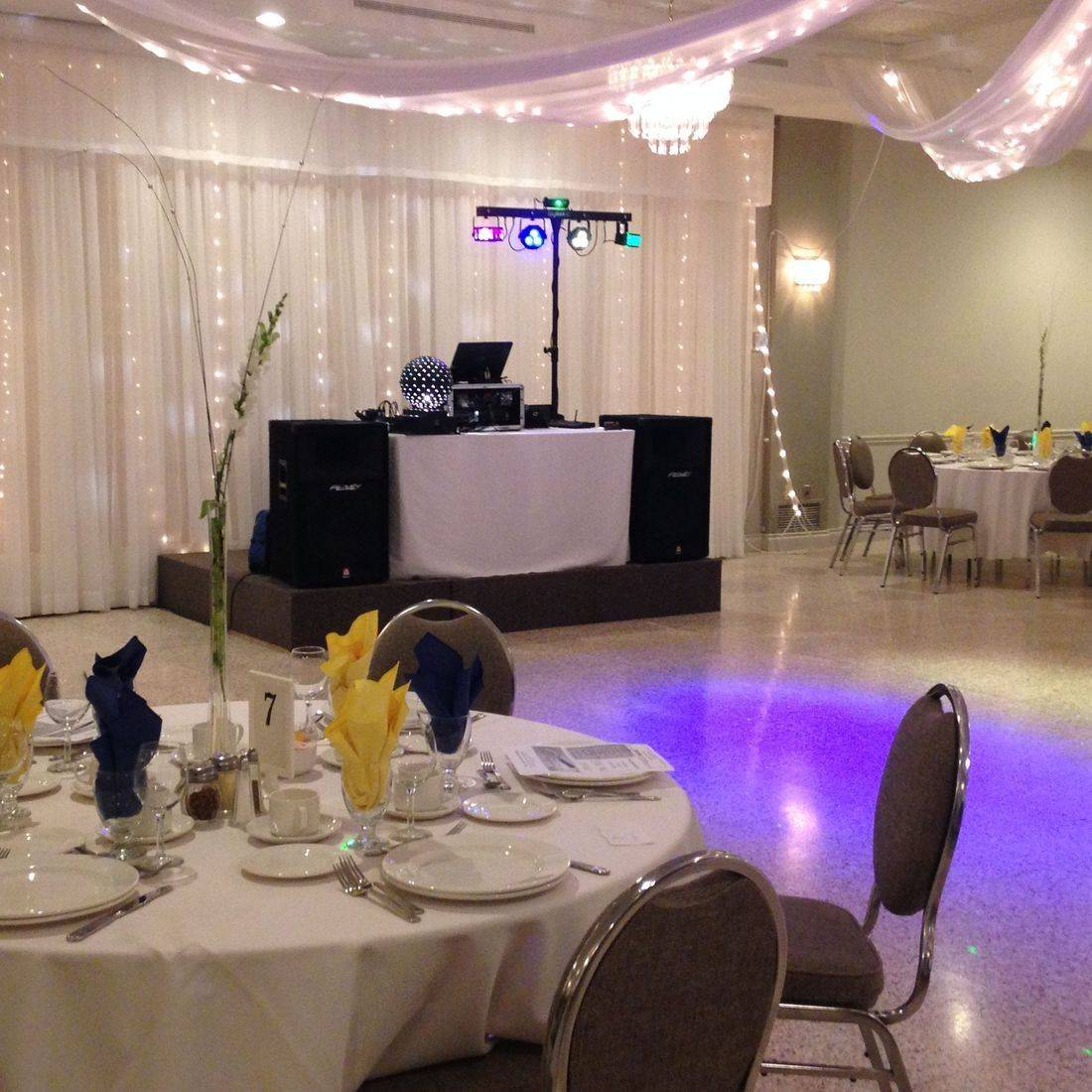 Mr. Productions DJ Service  in Binbrook at Famee Furlane in Binbrook.