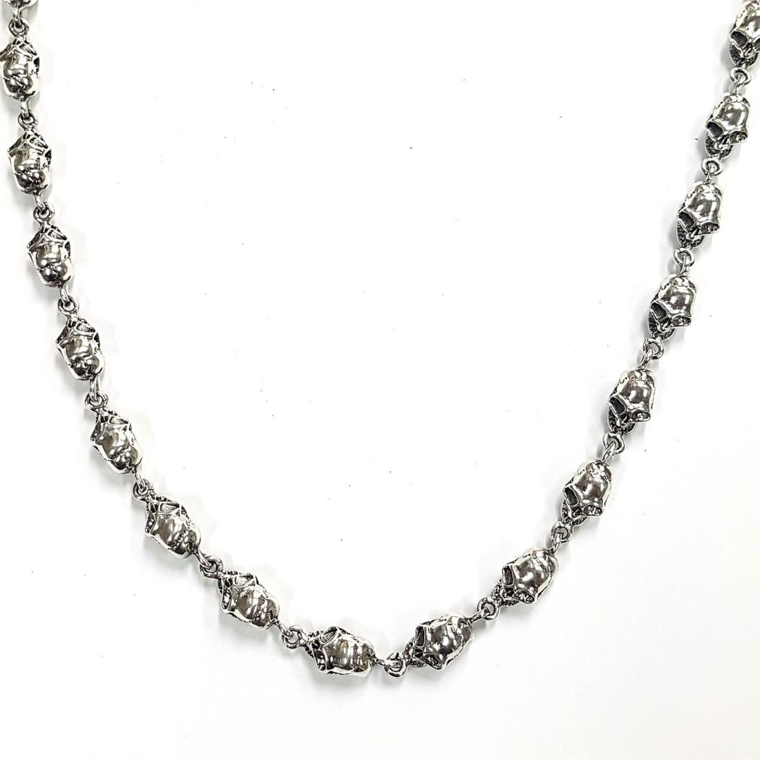 Solid Silver Skull Chain   available at Kazbah online and our Leicester City Centre Shop