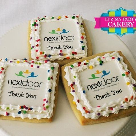 Photo Corporate Logo Cookies Milwaukee