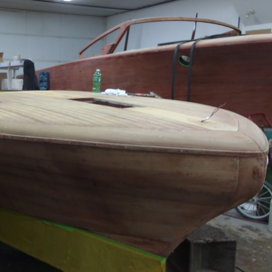 Chris Craft Continental refinish