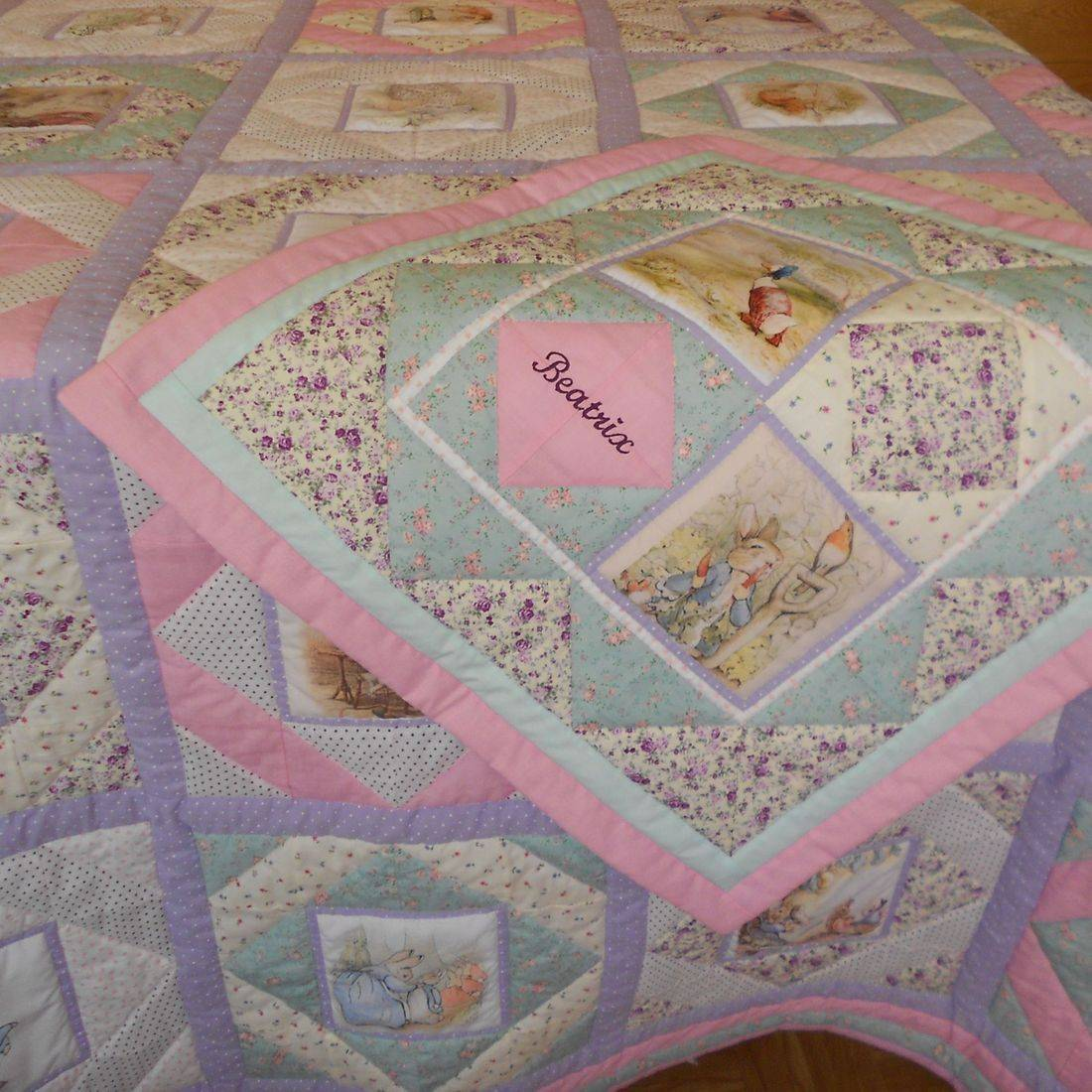 Beatrix Potter Double Quilt