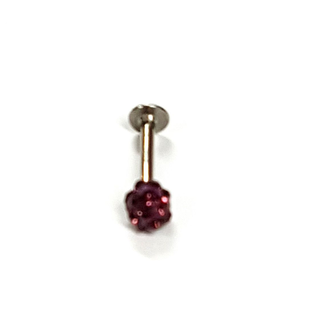 1.2mm x 8mm Amethyst Crystal Flatback Bar    available at Kazbah online and our Leicester City Centre Shop