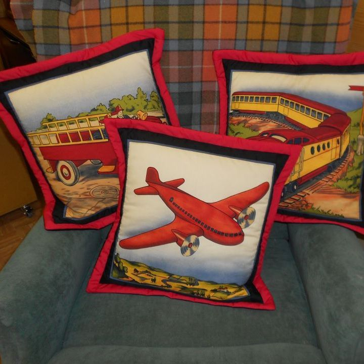 Old Fashioned Toys Cushions
