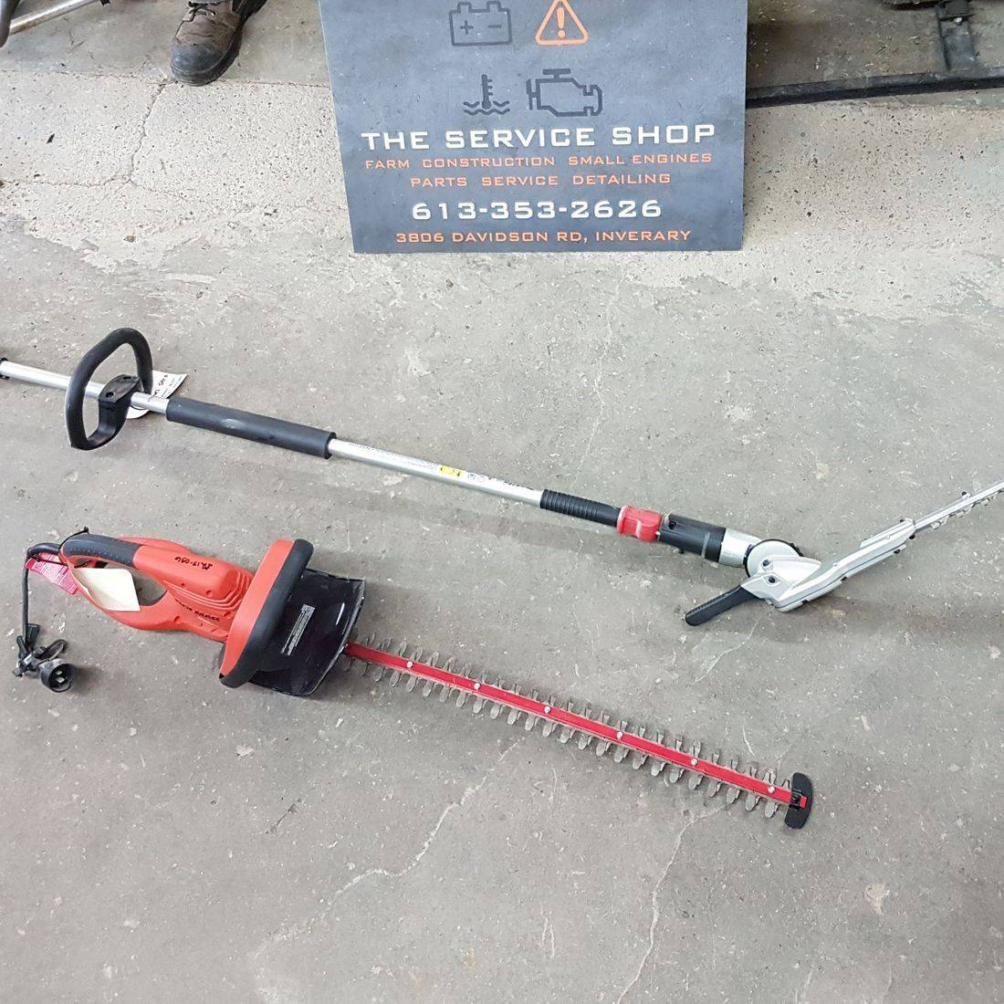 Hedge Trimmer - Long Handle - Gas