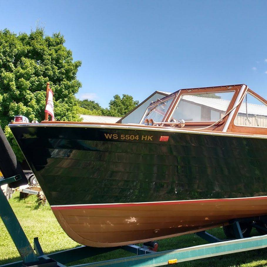 Well maintained Lyman at Bergersen Boat