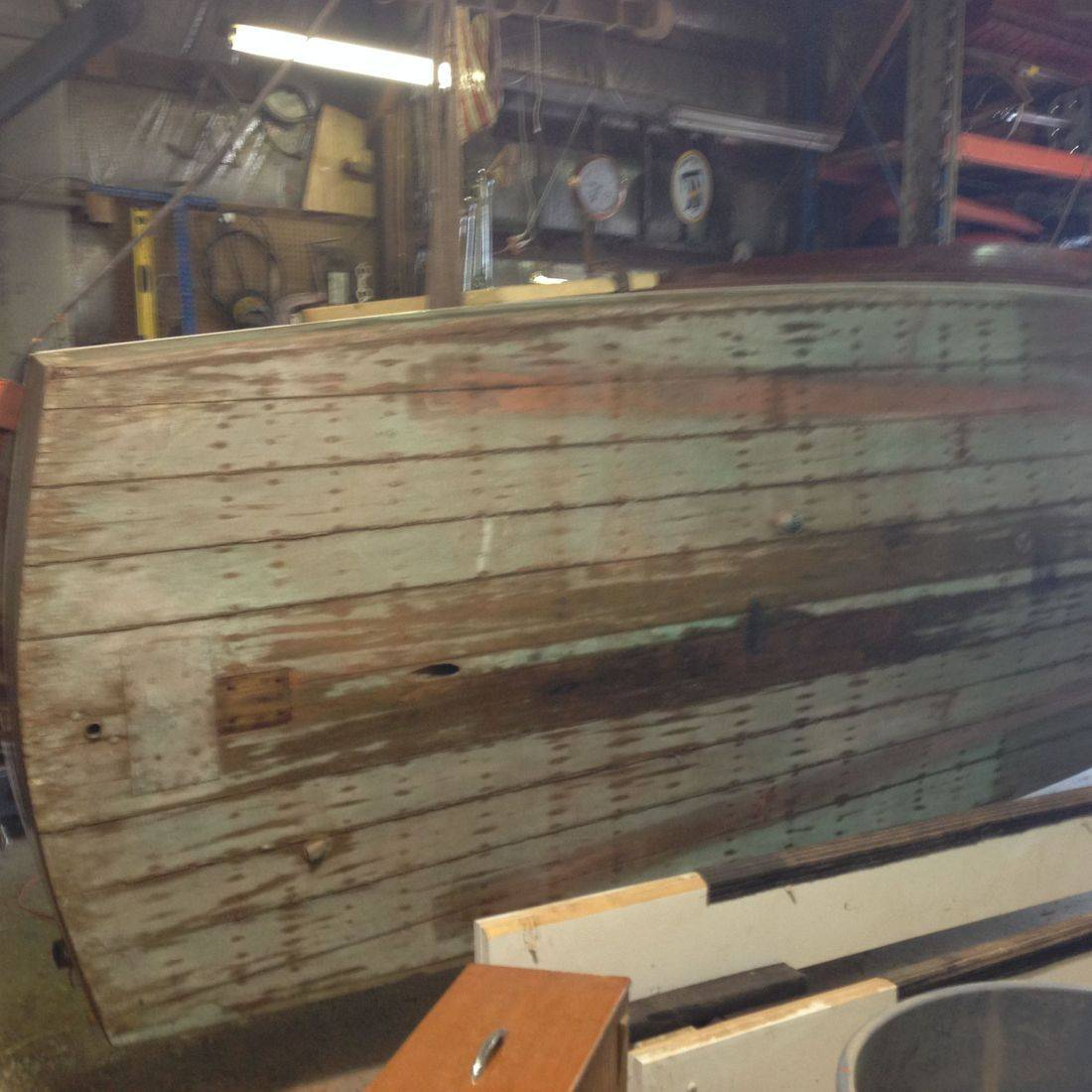 Chris Craft Barrel Back at Bergersen Boat Woodshop